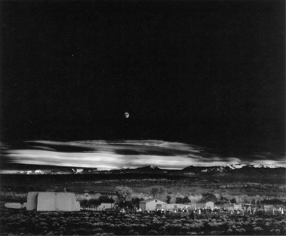 Moonrise, Hernandez, New Mexico