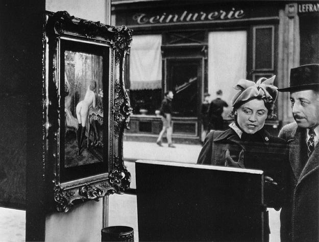 Robert Doisneau, The sidelong glance, 1948