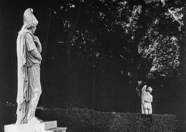 Barbarian prisoner and Callipygian Venus, Versailles