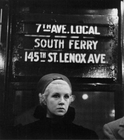Walker Evans - Partie 8 dans Photographie: Grands Photographes evans_subway_portrait