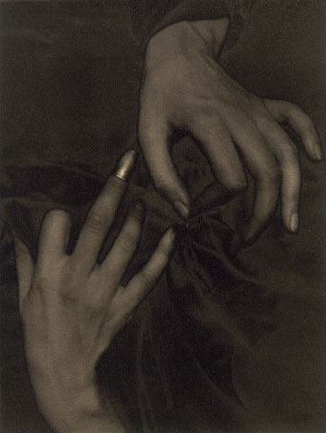 Stieglitz, Hands and Thimble - Georgia O'Keeffe
