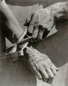 Hands of the puppeteer