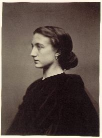 Nadar, Young Woman in Profile